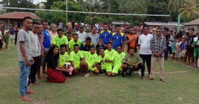 Klibur Juventude no Universitáriu Organiza Desportu Komunitáriu Hametin Paz Iha Suku Uaitame